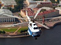 Вертолётные съемки в Санкт-Петербурге
