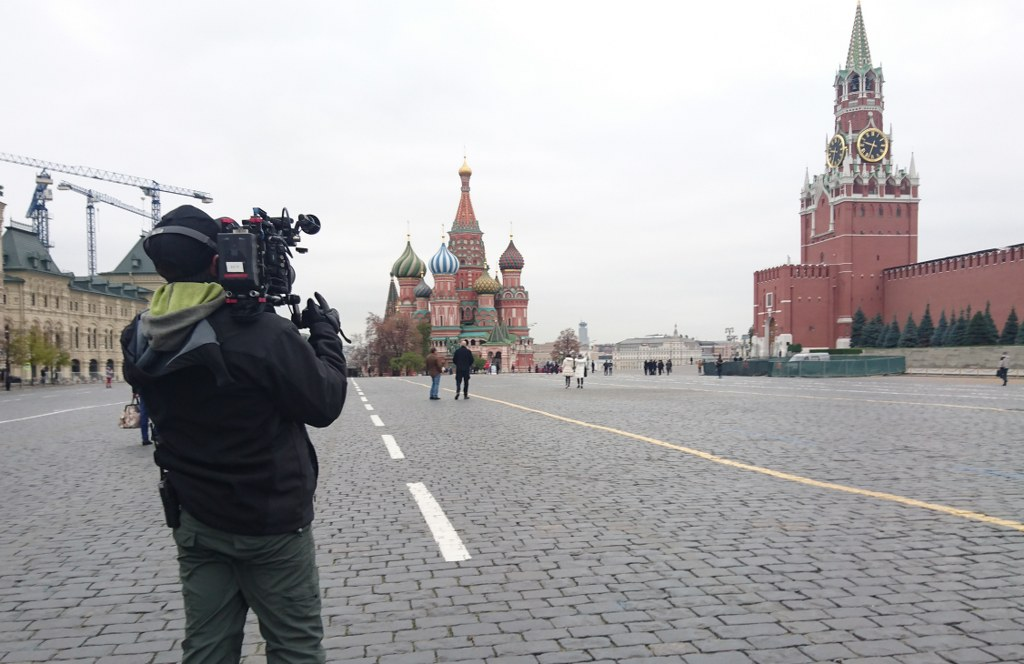 Проведение съемок в Москве на Красной площади
