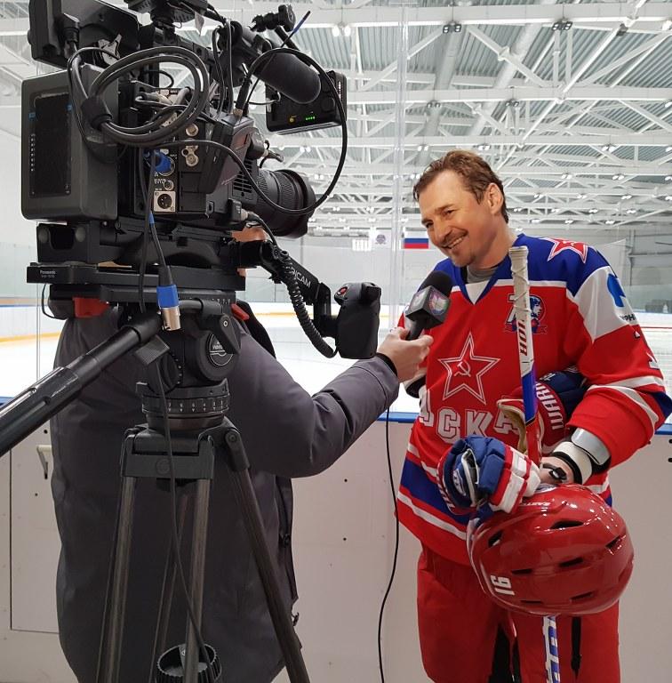 Съемки спортсменов в Москве и Санкт-Петерубрге