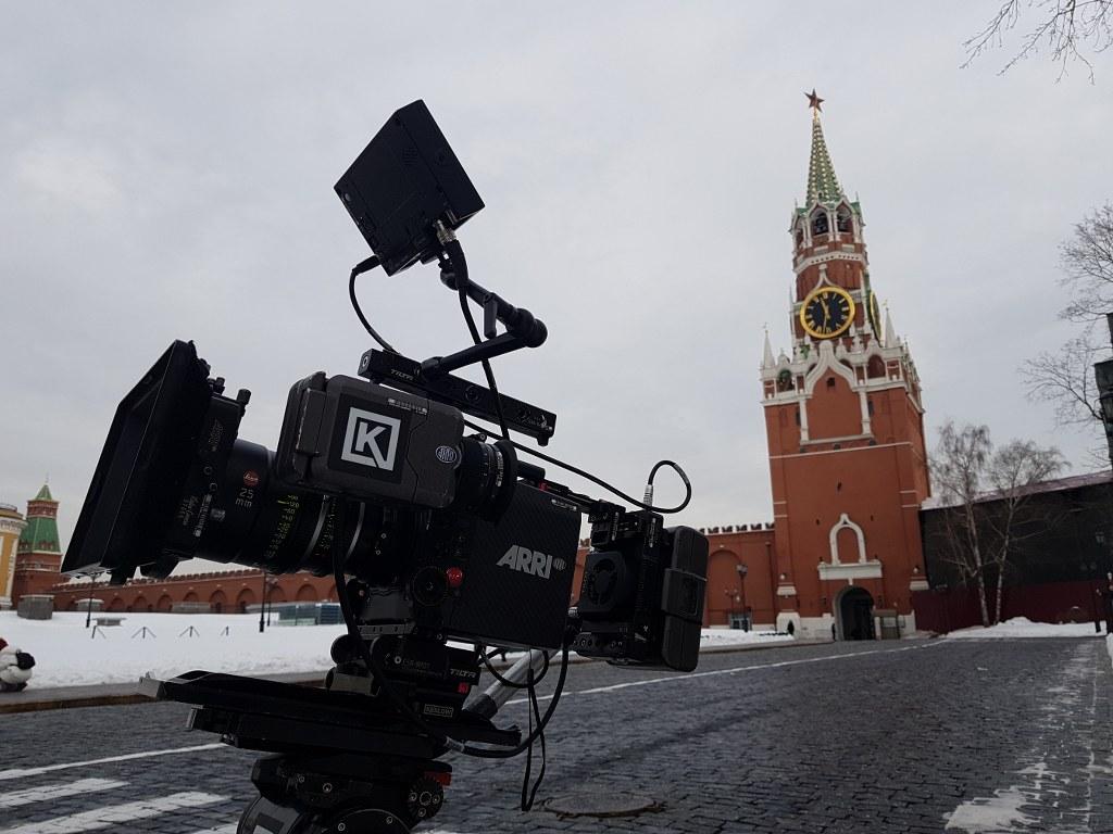 Разрешение на съемку в Кремле