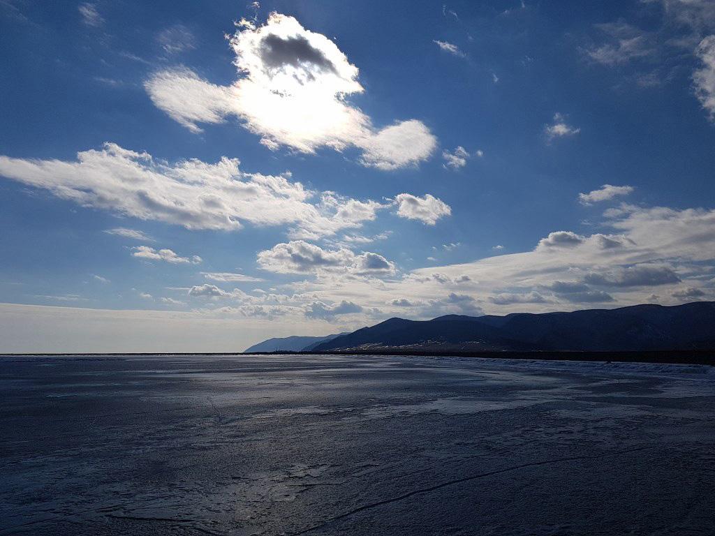 Съемки в Бурятии на озере Байкал