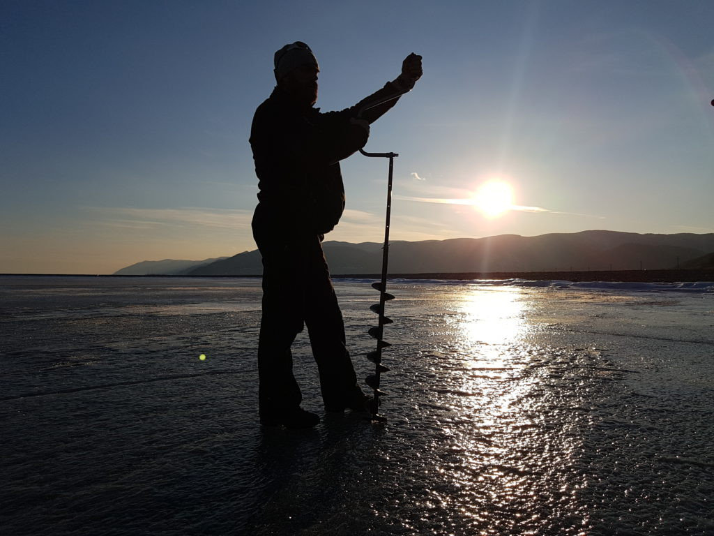 Продюсеры FilmspbTV на озере Байкал и в Иркутске