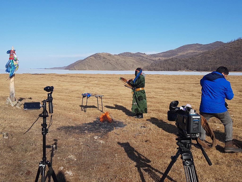 Съемки Шамана на Байкале