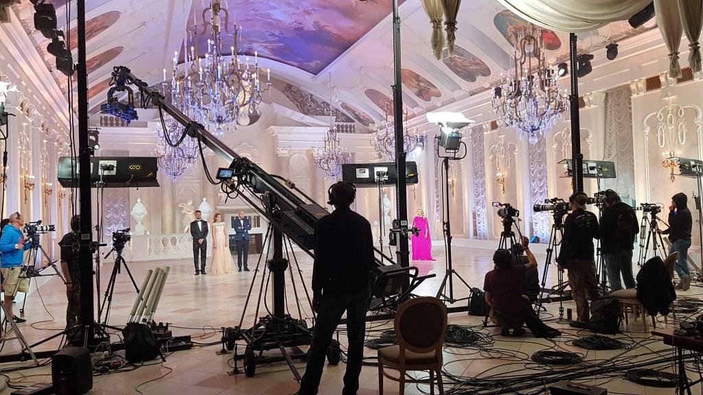 Съемки телешоу в Санкт-Петербурге и Москве