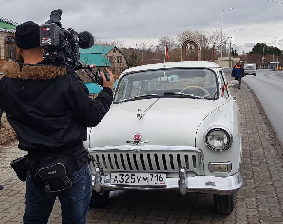 Съемки ретро автомобилей в Казани и Спб