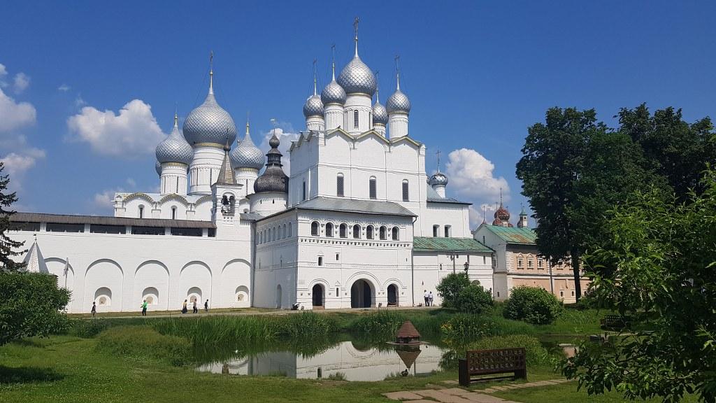 съёмки в Ростове Великом