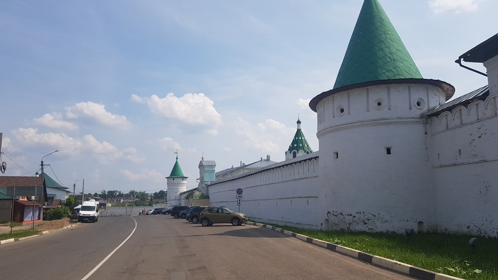 Съёмки в Костроме