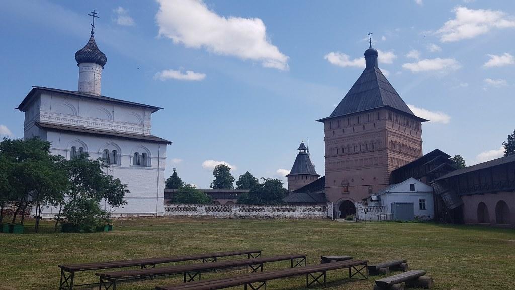 съёмки во Владимире и Суздале