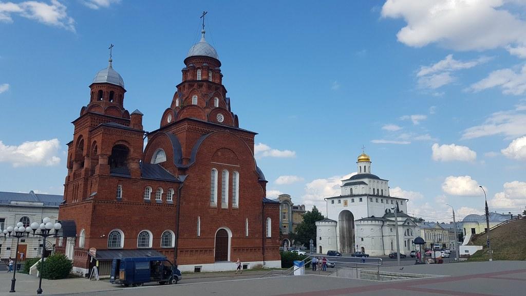Съёмка во Владимире и Суздале