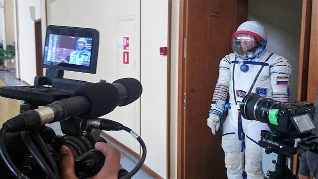 Съемки в Центре Подготовки Космонавтов в России