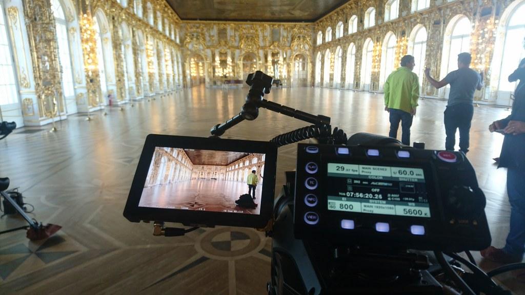 Съемки во дворцах и музеях в Санкт-Петербурге, правила и разрешения