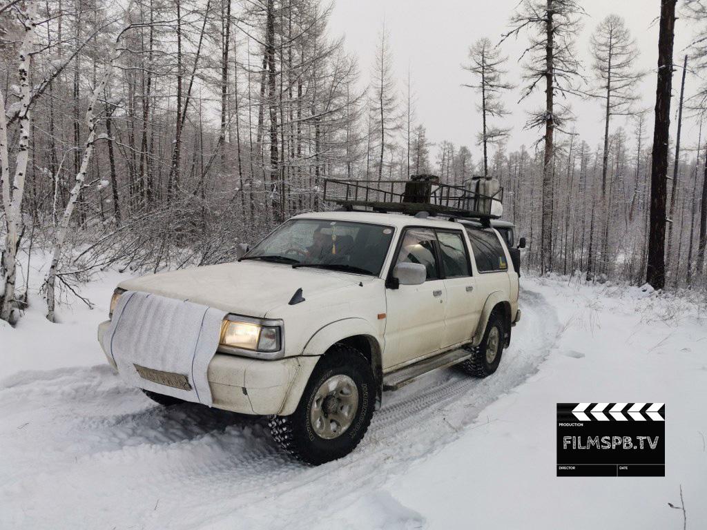 Транспорт для съемок при экстремально низких температурах в Якутии и Иркутске
