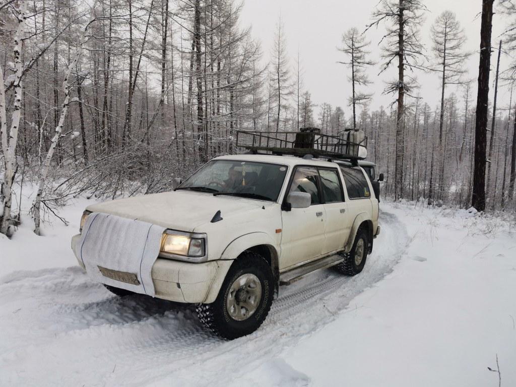Специальный транспорт для съемок в Сибири