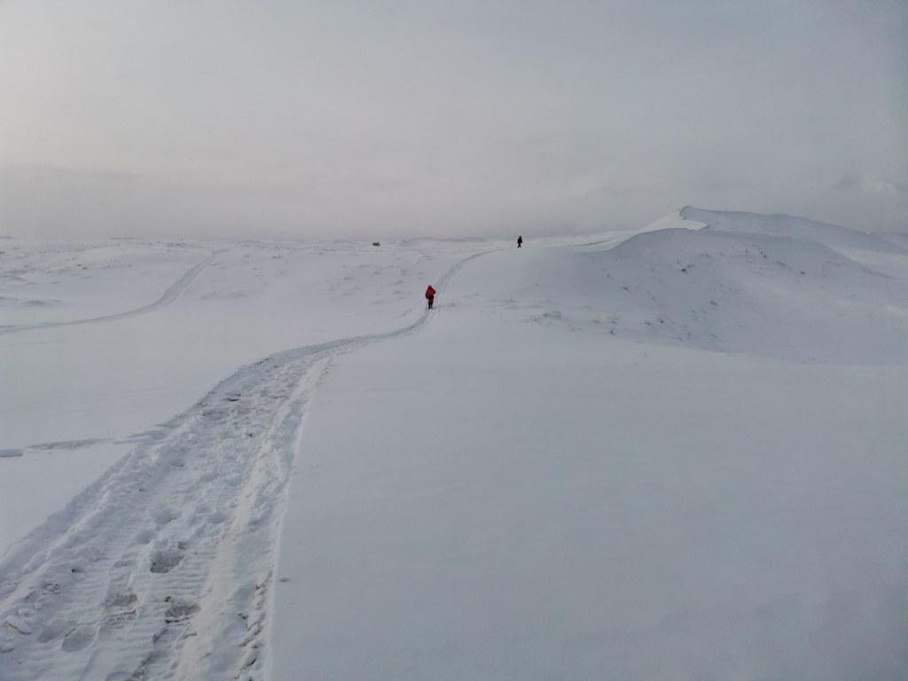 Съемки в Чарских песках зимой