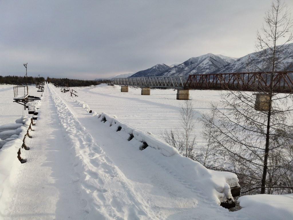 Мост Смерти автомобильный дублёр БАМ - великолепное место для съемок