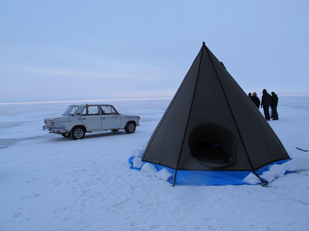 Киносъемки на озере Байкал