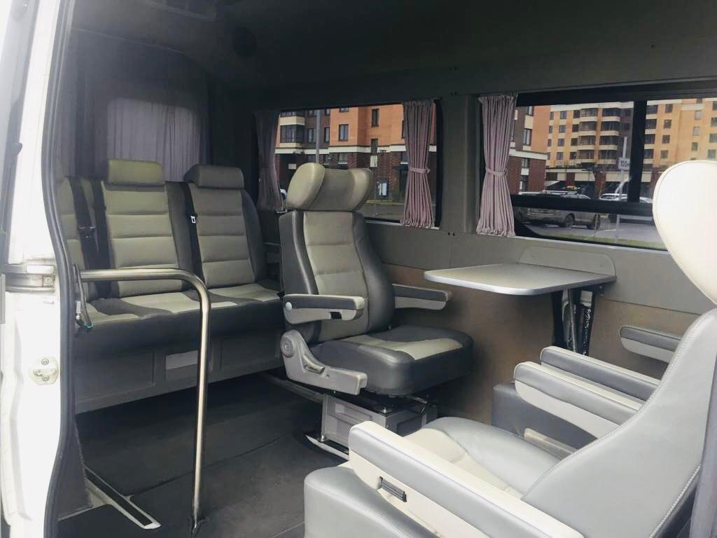 Аренда микроавтобуса в Москве для съемок