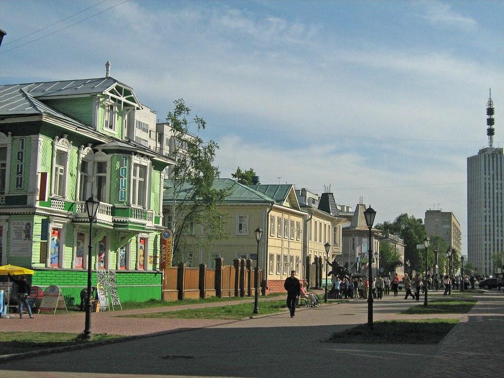 Съёмка в городе Архангельске