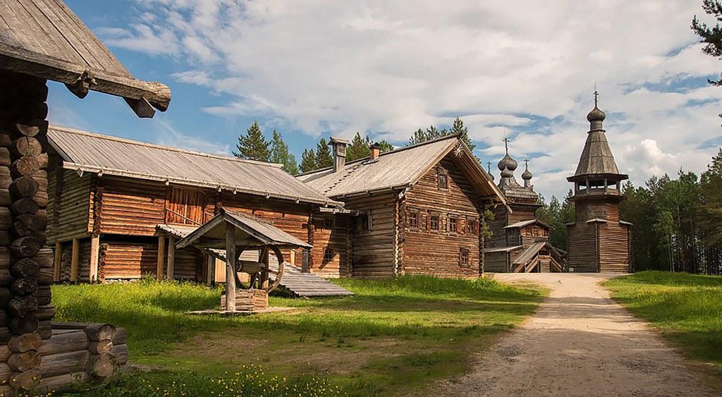Съёмка в Архангельске Корелы