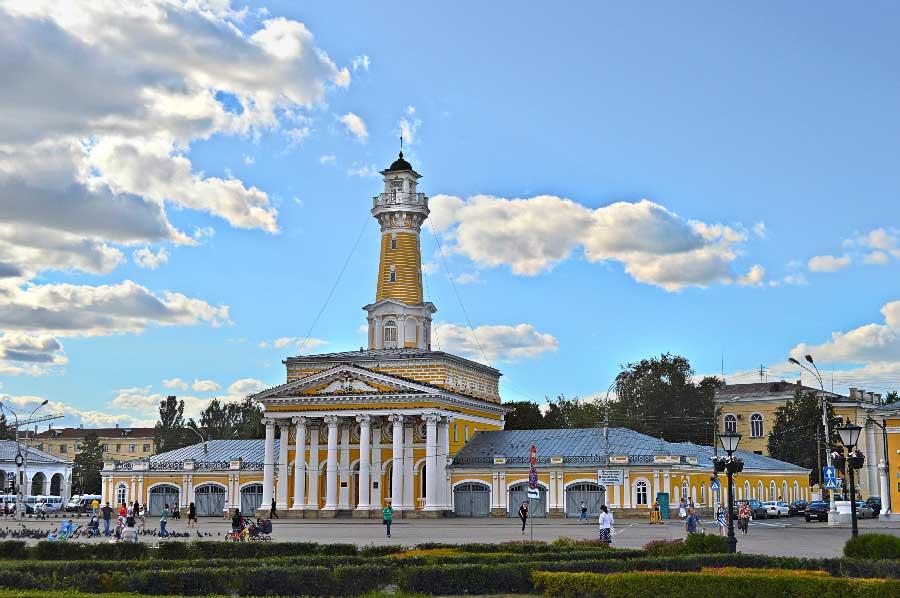 Организация съемок в Костроме