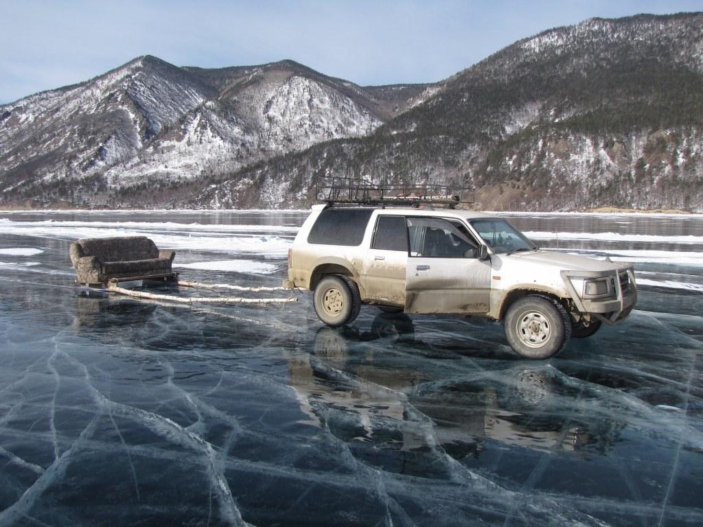 Идеи для съемок шоу зимой на льду озера Байкал
