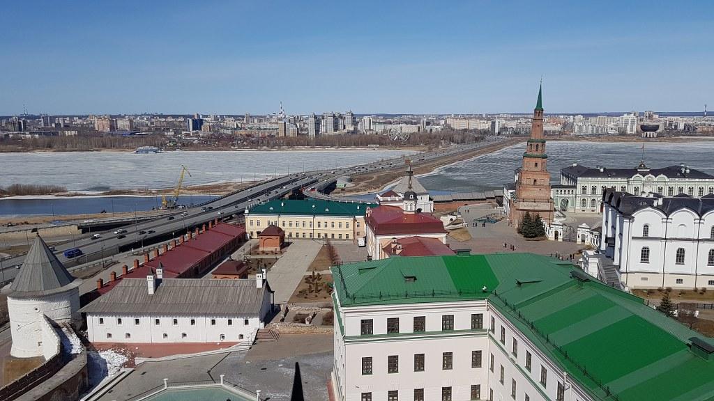 Съемки в Казанском кремле