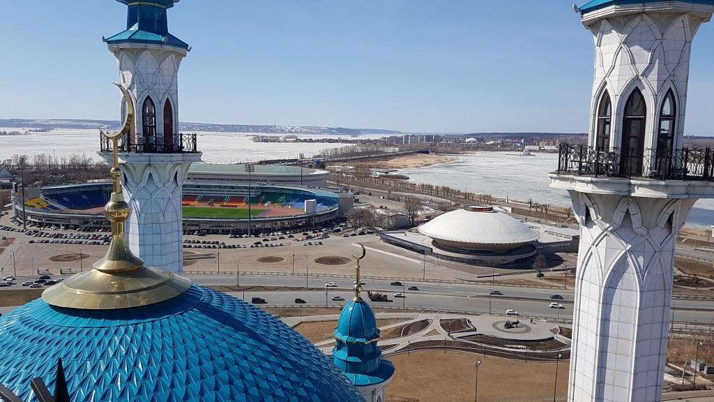 Разрешение на съемку в мечети Кул Шариф и Казанском кремле
