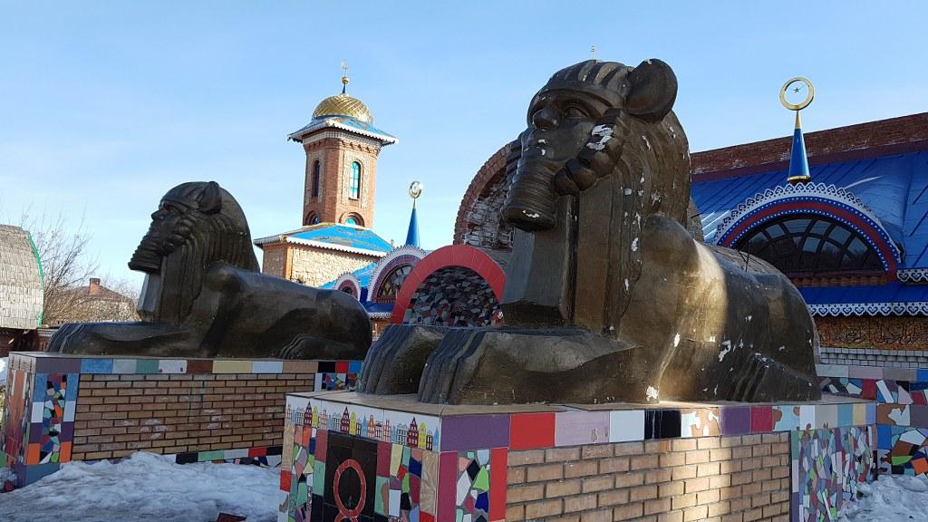 Разрешение на съемки в храме всех религий в Казани