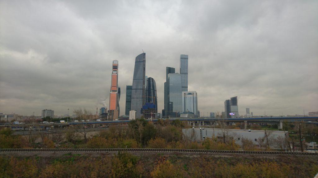 Съемки Москва Сити