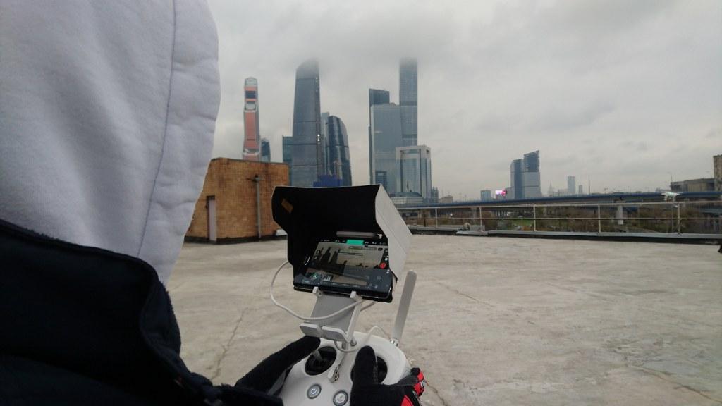 Съемки с коптера в Москве