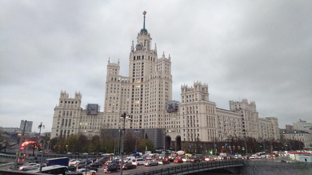 Съемки достопримечательностей Москвы